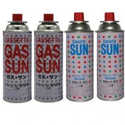 کپسول گاز 250 گرمی SUN بسته 4 عددی