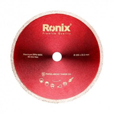 صفحه سرامیک بر 230 میلی متری رونیکس RONIX